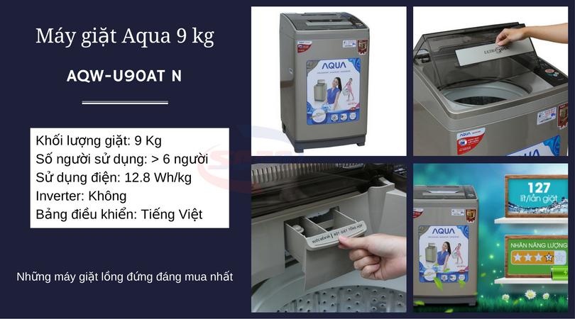 máy giặt aqua-AQW-U90AT N