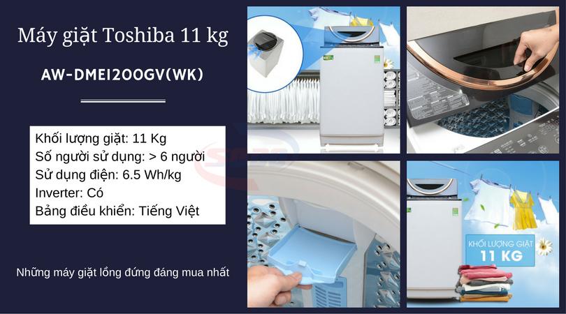 may giat toshiba AW-DME1200GV(WK)