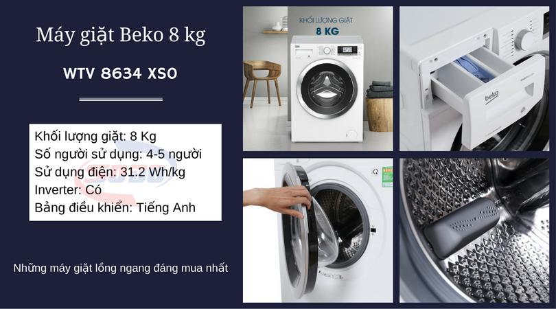 máy giặt beko