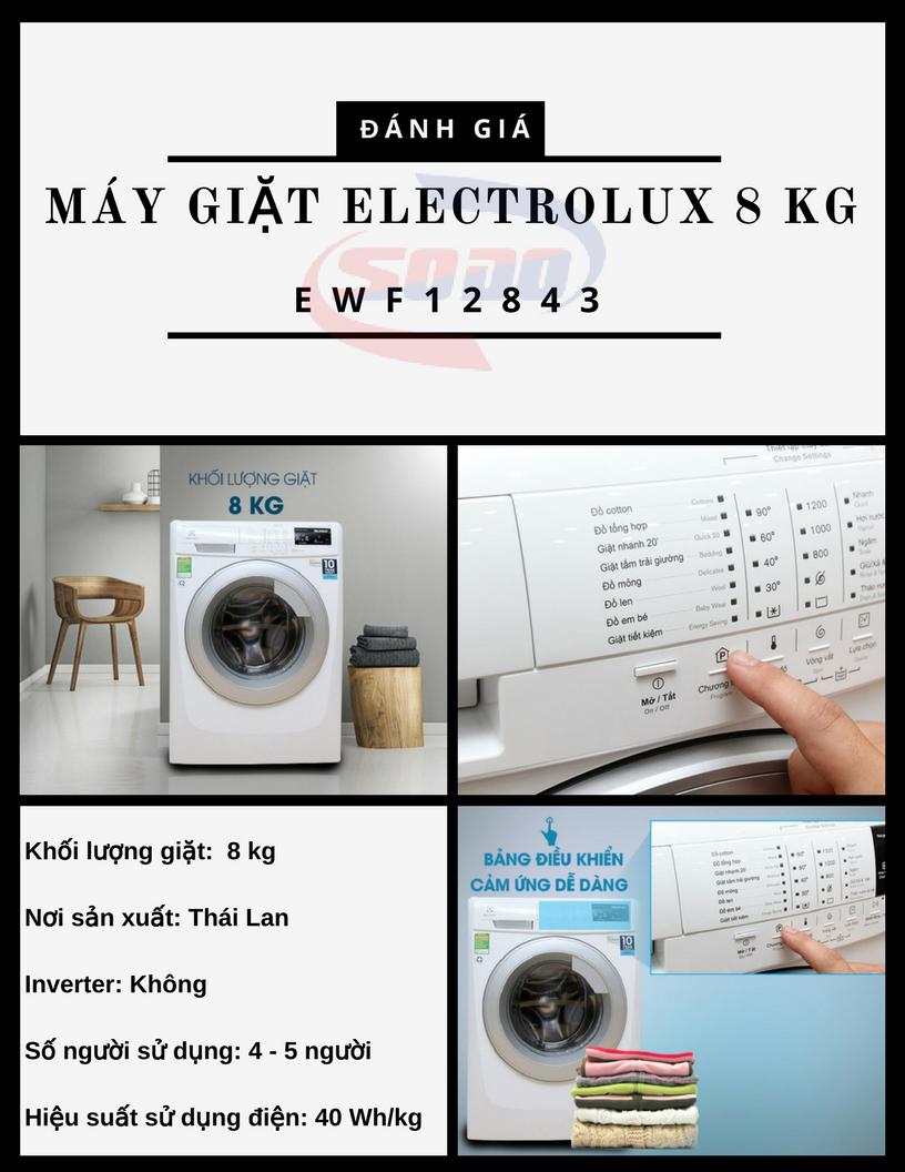 may giat electrolux EWF12843