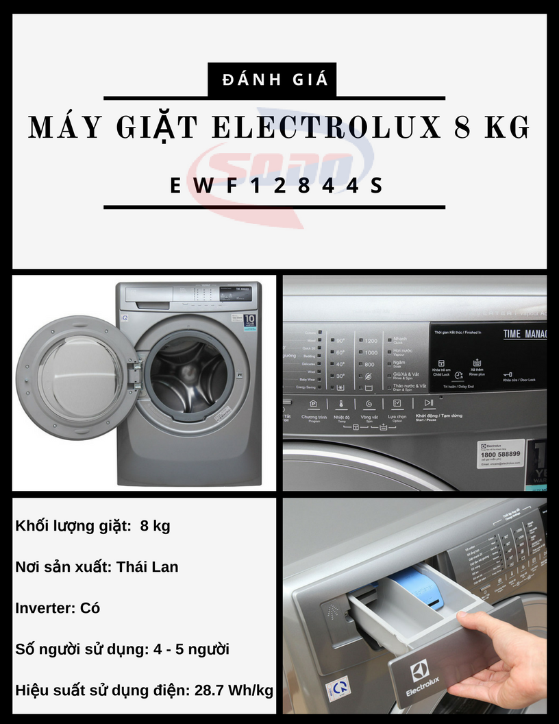 may giat electrolux EWF12844S