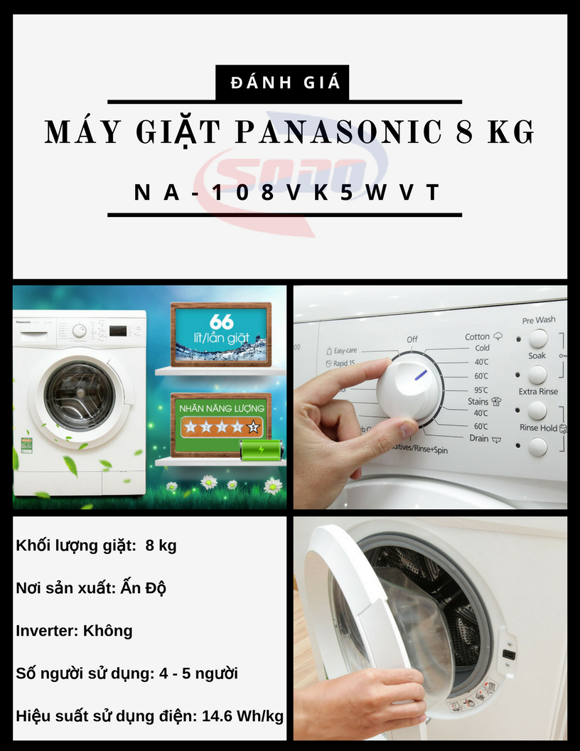 may giat panasonic NA-108VK5WVT
