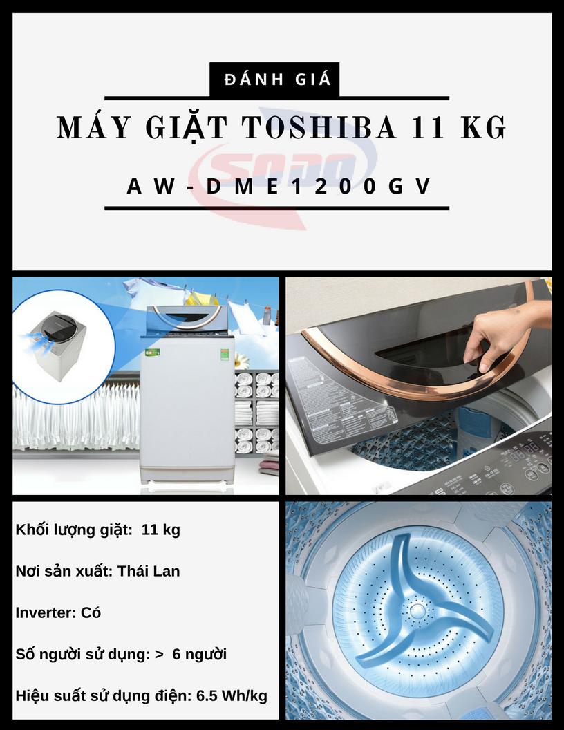 may giat toshiba AW-DME1200GV
