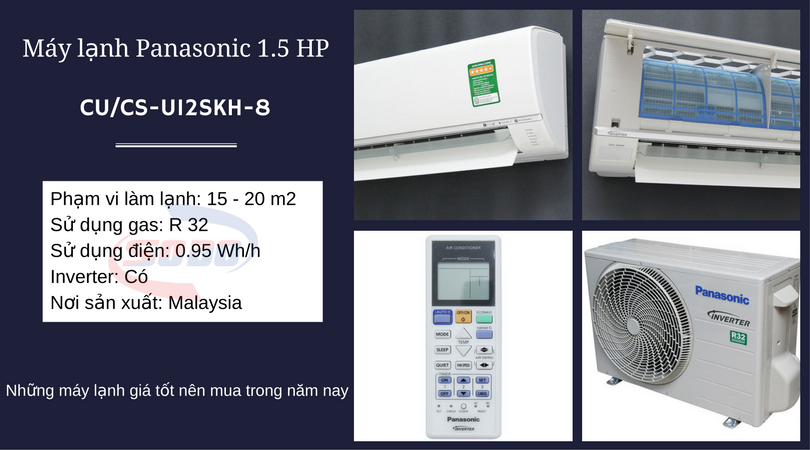 may lanh paanasonic CU-CS-U12SKH-8
