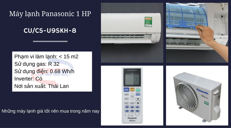 may lanh panasonic CU-CS-U9SKH-8