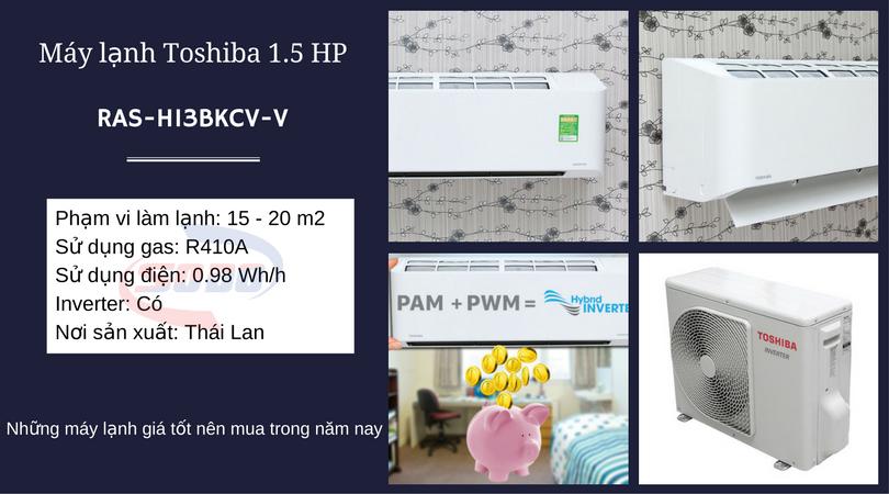 may lanh toshiba RAS-H13BKCV-V