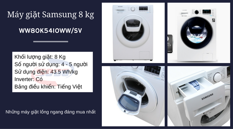 may giat samsung-WW80K5410WW-SV