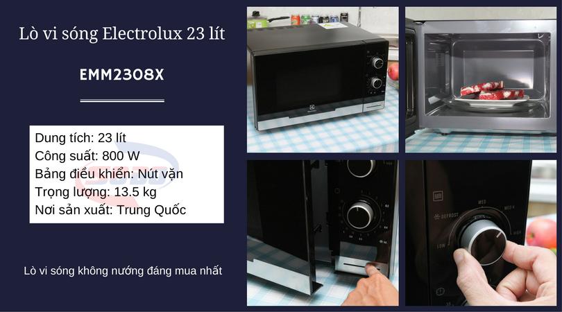 lo vi song electrolux EMM2308X