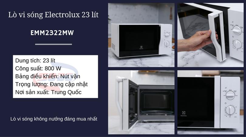 lo vi song electrolux EMM2322MW