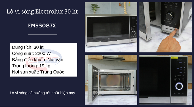 lo vi song electrolux EMS3087X