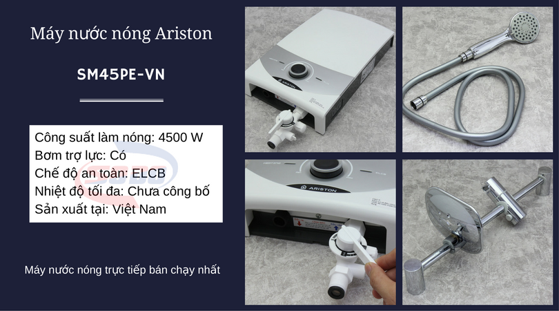 may nuoc nong ariston SM45PE VN