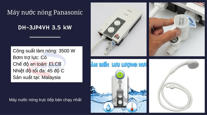 may nuoc nong panasonic DH 3JP4VH 3.5 kW