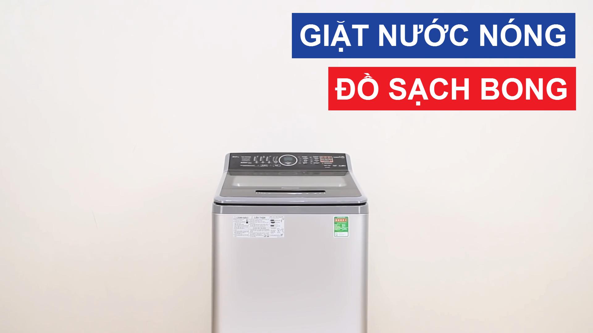 review máy giặt panasonic