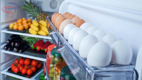 bảo quản thức ăn sai vị trí