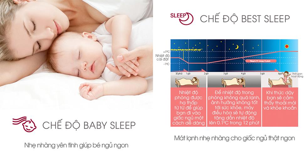 chế độ vận hành khi ngủ