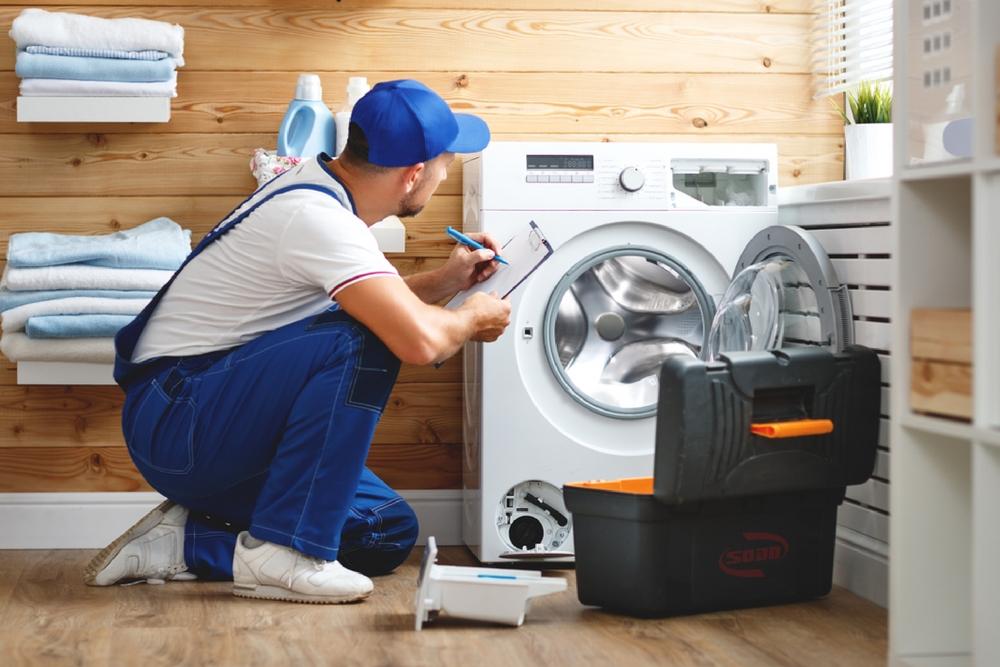 máy giặt đang giặt bị ngừng