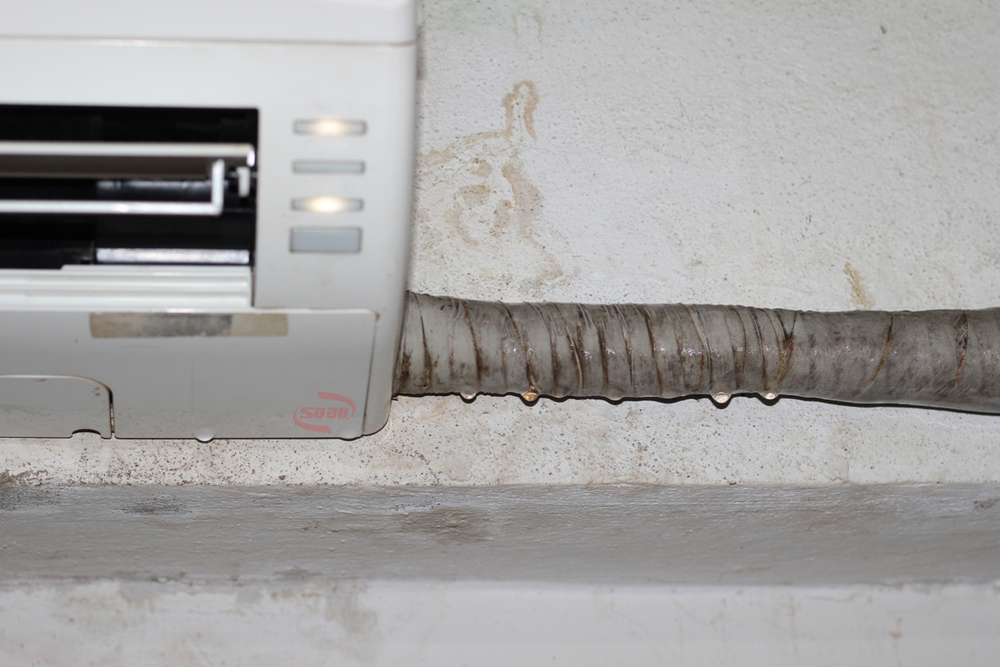 ống đồng máy lạnh bị rỉ nước